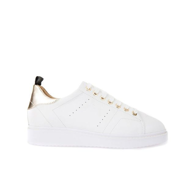 chaussures geox blanches