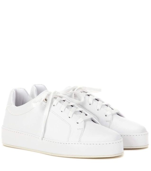 Baskets blanches Loro Piana