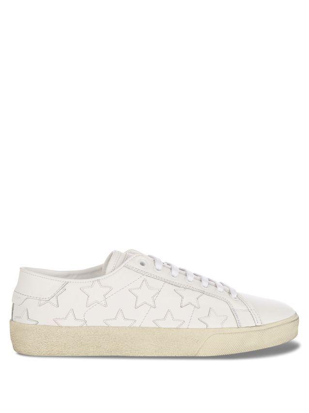 Baskets blanches Saint Laurent