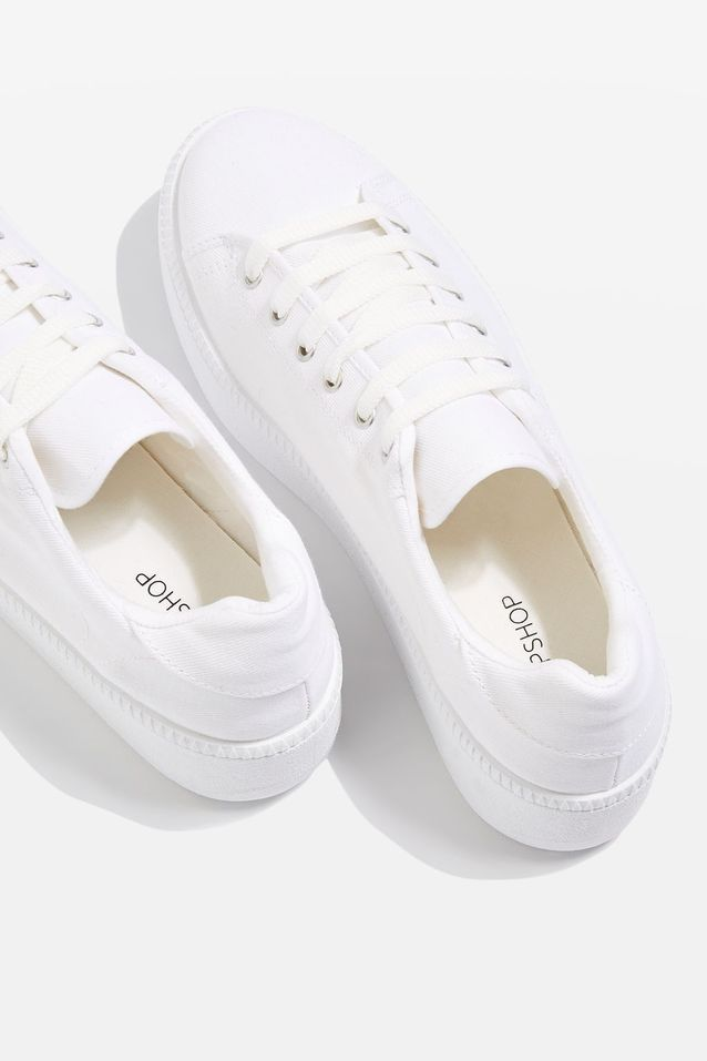 Baskets blanches H&M Trouver basket blanche à son pied