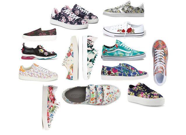 7aa3c6277dd Baskets à fleurs Gucci - On veut des baskets à fleurs - Elle