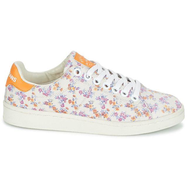 Baskets à fleurs Pepe Jeans