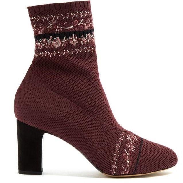 Bottines chaussettes brodée Tabitha Simmons