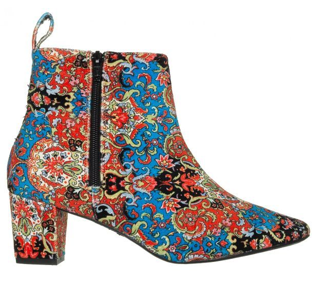 Bottines originales en coton imprimé Manoush