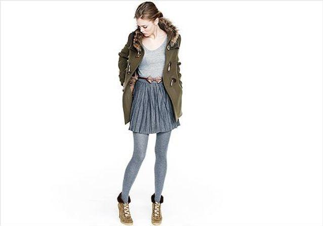 Chaussures: le fourré réchauffe notre look