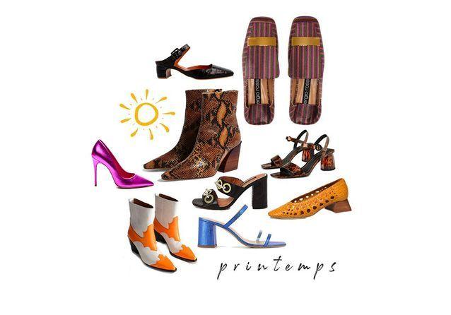 Chaussures printemps,été  ces modèles que l\u0027on veut à nos pieds
