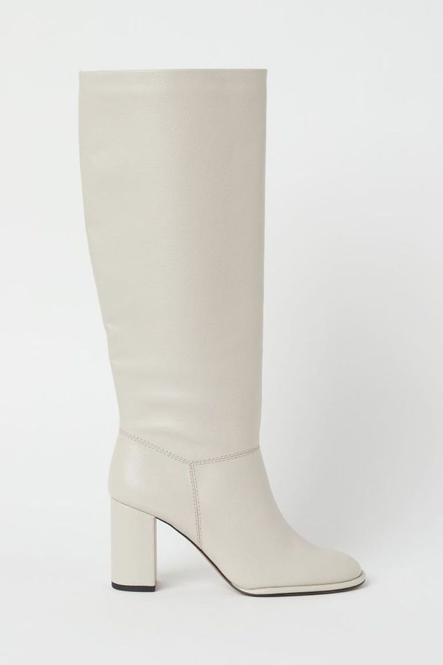 Bottes blanches H&M