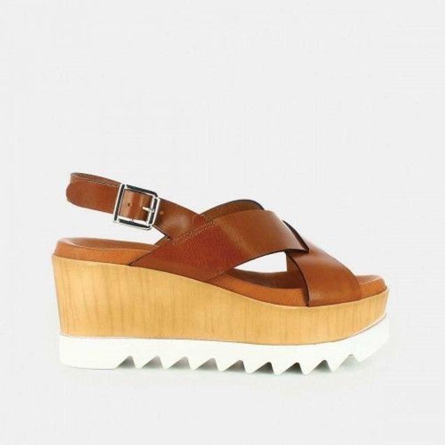 Grosses sandales camel Jonak