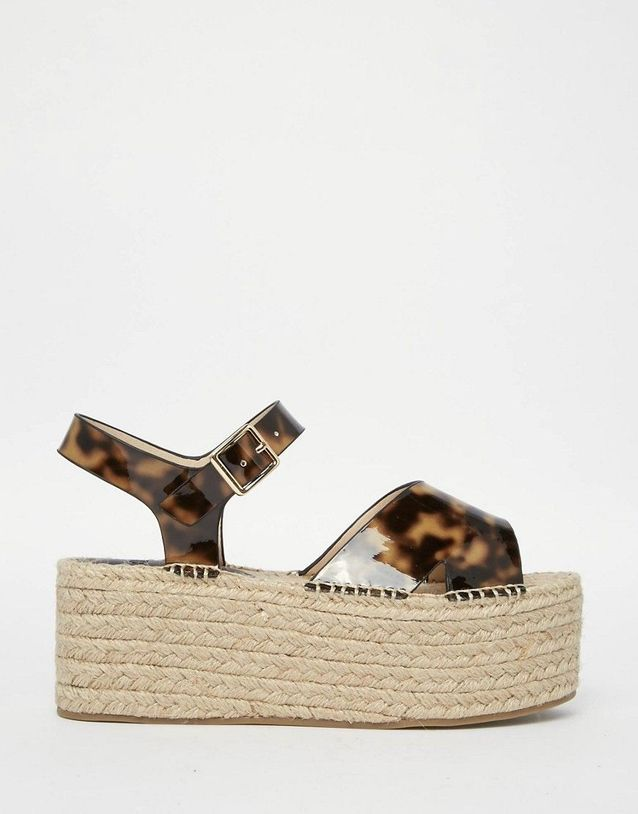 Grosses sandales plateforme Asos