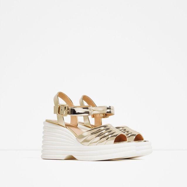 Grosses sandales Zara