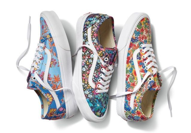 L'instant mode : Vans x Liberty, la collab' basket la plus chic du printemps