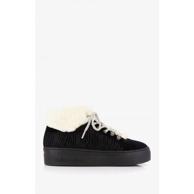 Sneakers gaverest noir Mellow Yellow