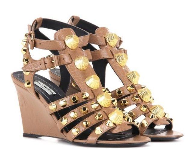 Sandales compensées Balenciaga