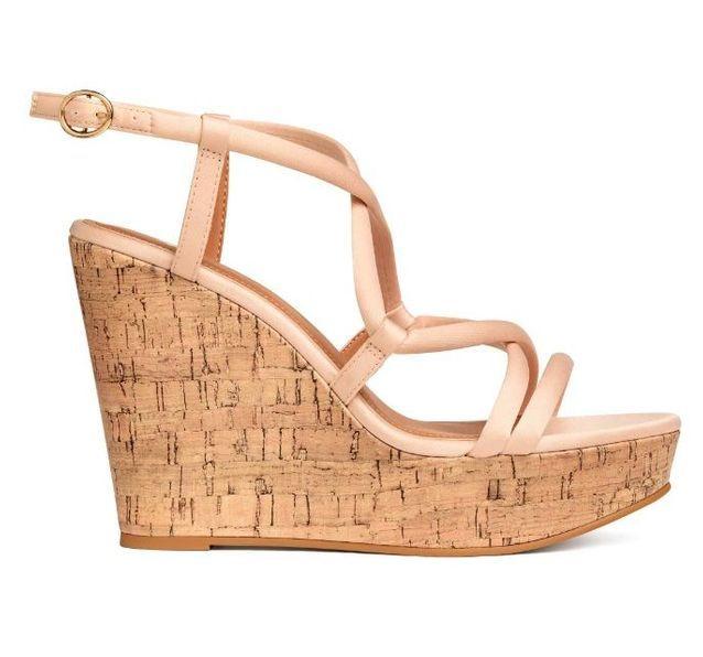 Sandales compensées H&M