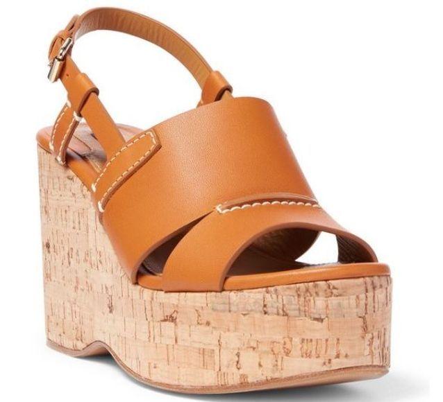 Sandales compensées Polo Ralph Lauren