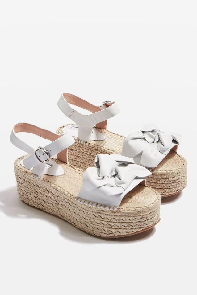 Sandales compensées Topshop
