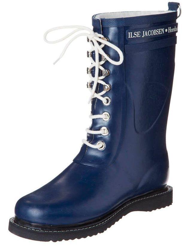 Bottes de pluie bleu marine Ilse Jacobsen