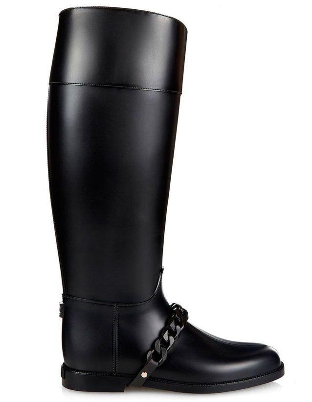 Bottes de pluie élégantes Givenchy