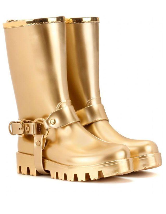 Bottes de pluie en caoutchouc Dolce & Gabbanna