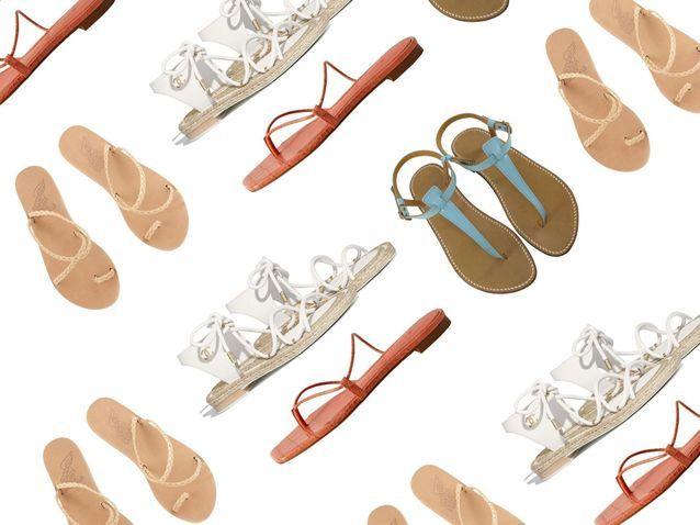 Les plus jolies paires de sandales plates pour les beaux jours
