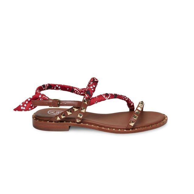 Sandales plates Ash