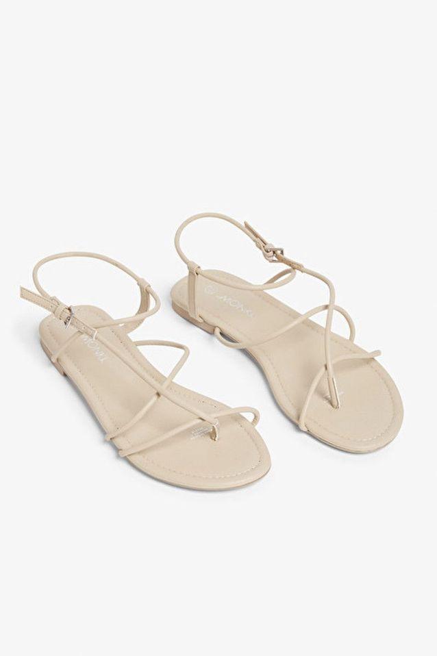 Sandales plates Monki
