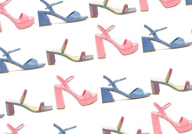 45 paires de sandales à talons pour prendre de la hauteur