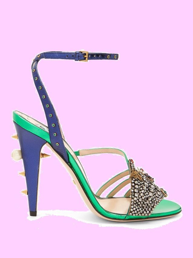 Sandales à talons Gucci