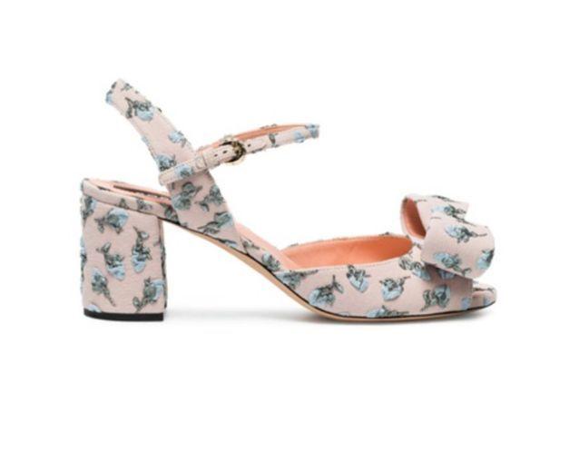 Sandales à talons Rochas