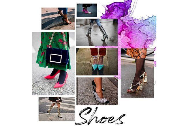 Street-style : 50 chaussures repérées pendant la Fashion Week