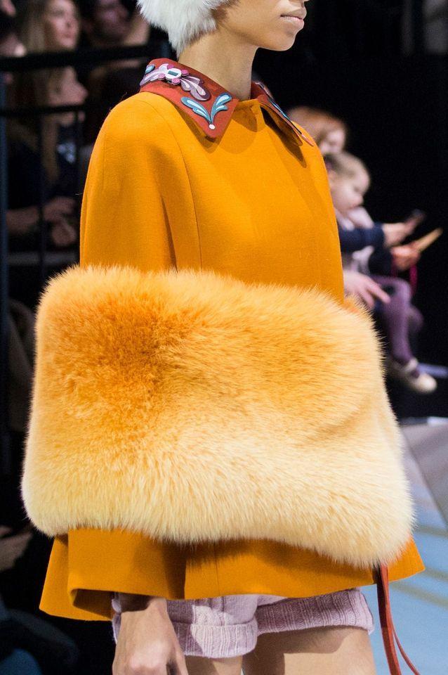 La veste bi-matières de Anya Hindmarch