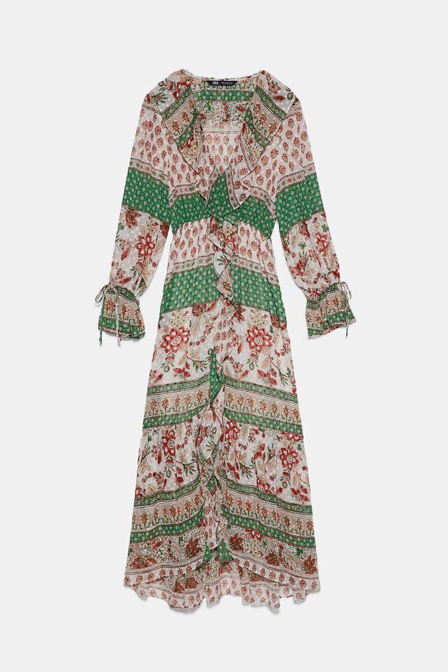 Robe imprimée Zara
