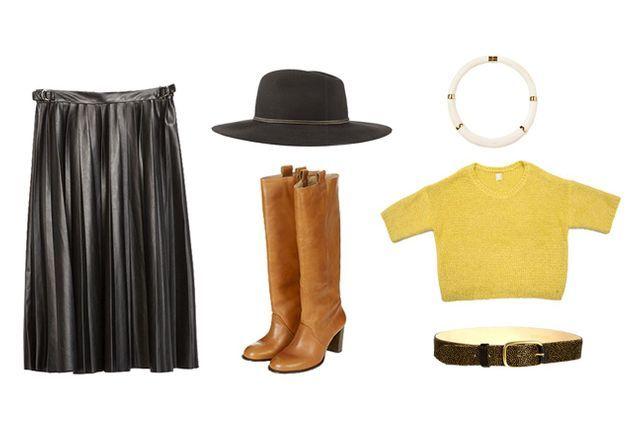 220e714fd0 Comment porter la jupe plissée : comment porter la jupe plissée - Elle