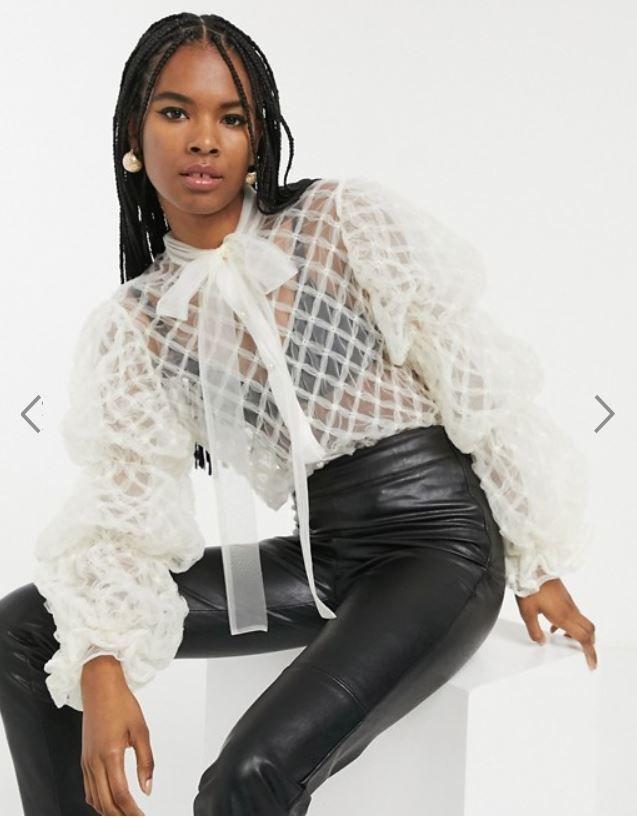 Les blouses transparentes