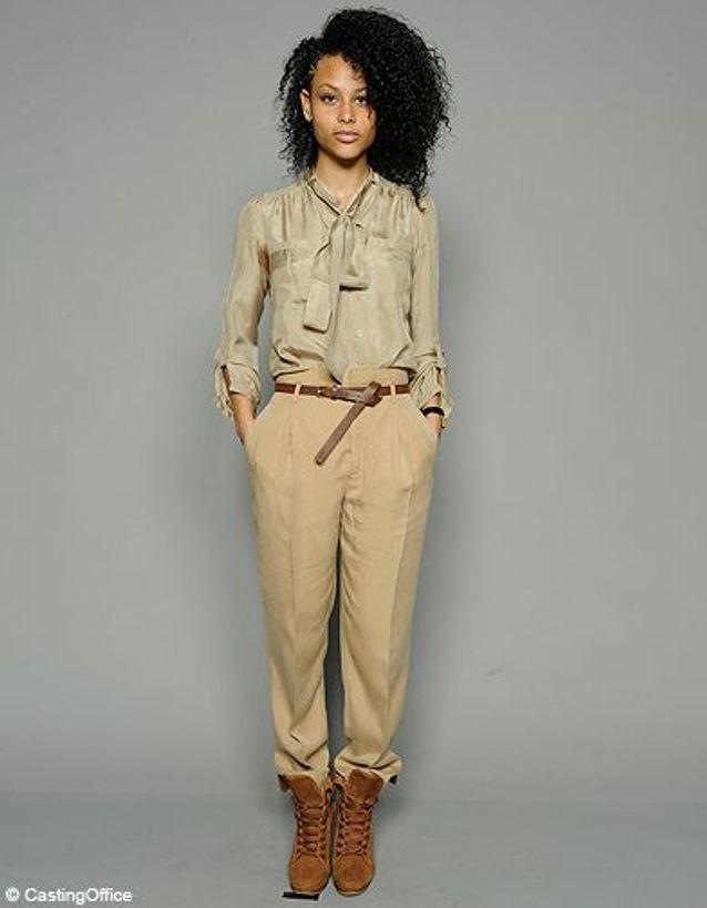 Mode casting elle aime la mode Djamila Limat Cover