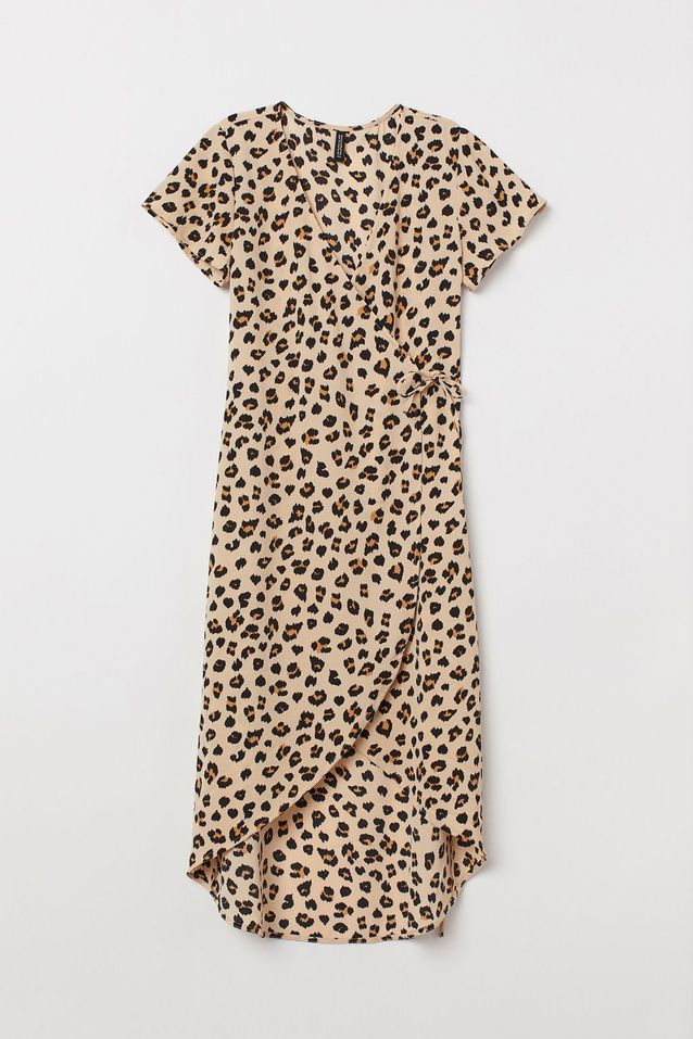 Robe léopard H&M
