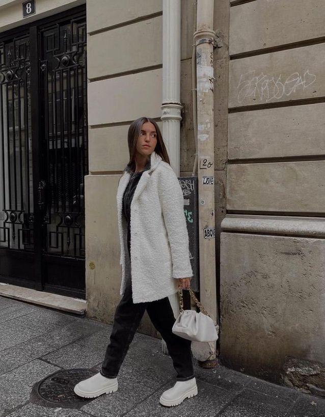 Boots et accessoires blancs