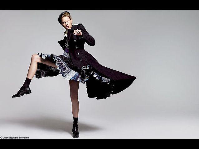 1 mode serie look tendance KAROLINA Kurkova rentree