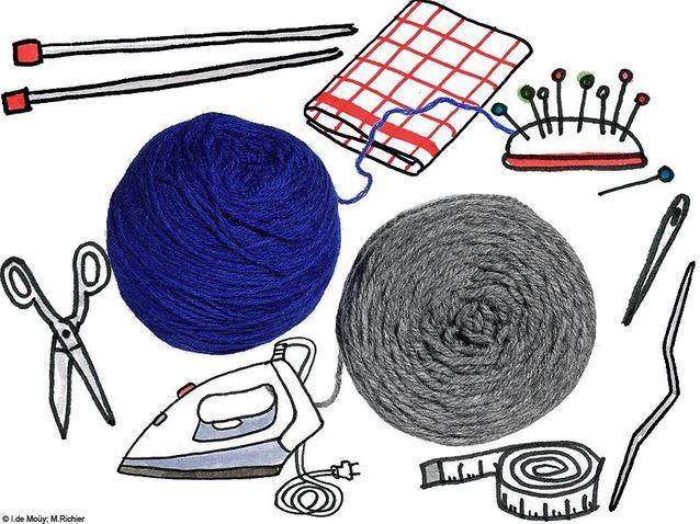 Mode do it yourself customiser creation bandeau laine materiel