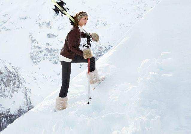 En mode classe de neige