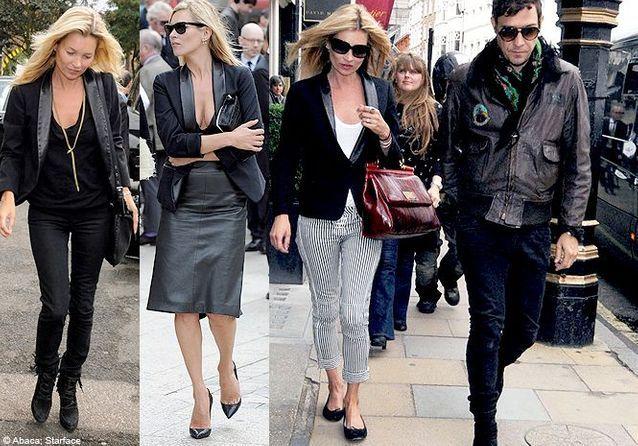 Fashion Fixette : le blazer de Kate Moss