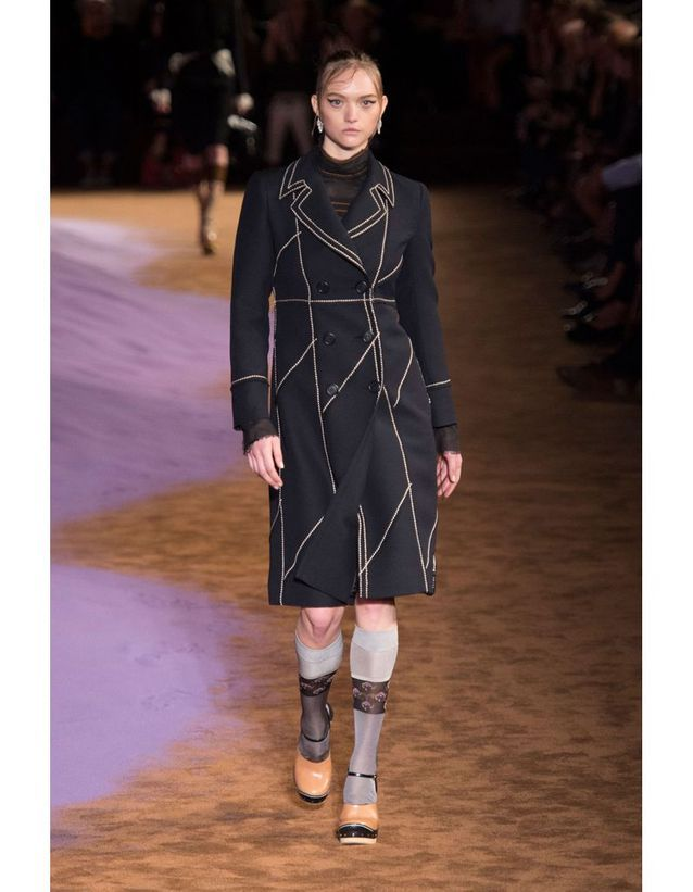 Gemma Ward chez Prada