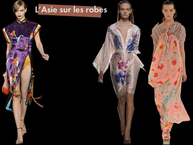 Asie Sur Les Robes