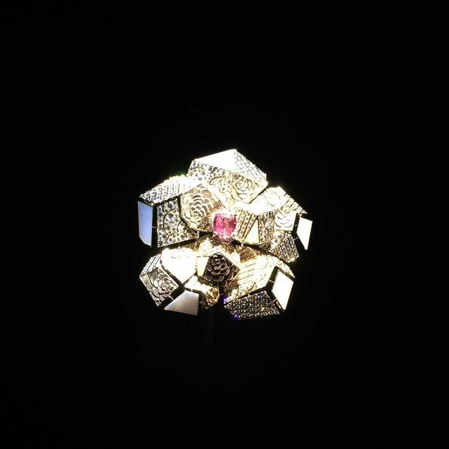 Chanel Collection Café Society Broche « Sunset »