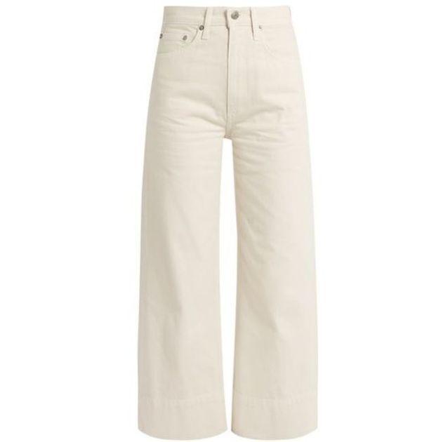 Un jean beige