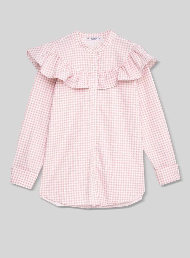 Chemise à volants Pull & Bear