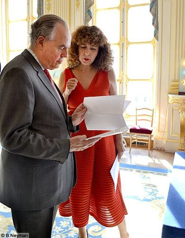 Mode elle aime lamode soiree ministere laureats valerie toranian frederic mitterand avant discours