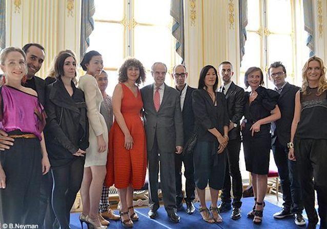 La soirée des Nouveaux Talents de la mode ELLE 2011