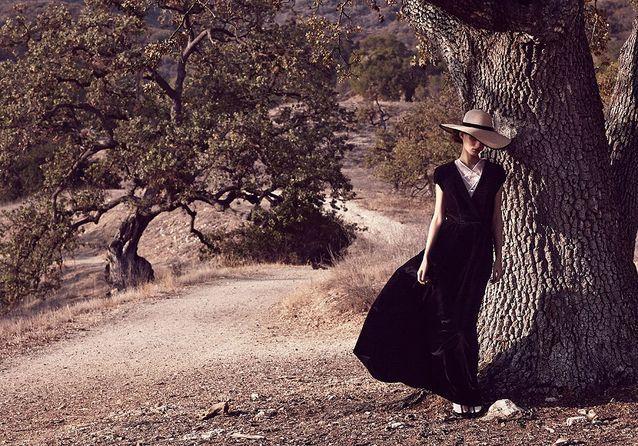 Leçon de style d'une cowgirl chic