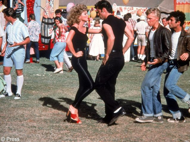 Le legging en cuir de « Grease »